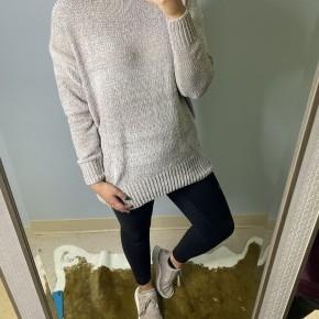 Lt Grey Chenille Sweater *Final Sale*