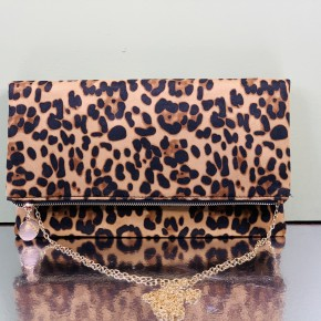 Leopard Envelope Purse
