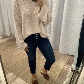 Gabbi Sweater, Powder Pink *Final Sale*