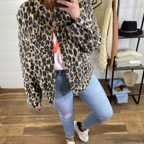 Gimme All The Leopard Jacket