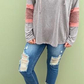 The Weekend Sweater, Mushroom *Final Sale*