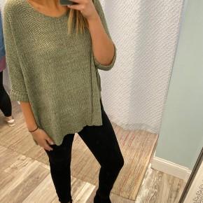 Oversized Knit Sweater, Olive *Final Sale*