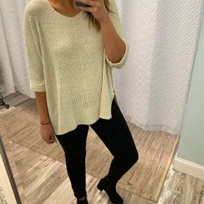 Oversized Knit Sweater, Oatmeal *Final Sale*