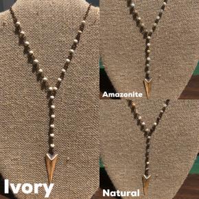 Arrowhead Drop Necklace
