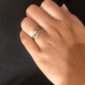 CZ Triple Ring Set