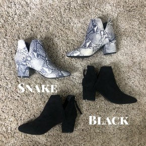 Bethany Bootie *Final Sale*