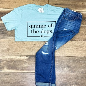 Gimme All the Dogs Tee