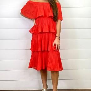 Farrah Dress, Red