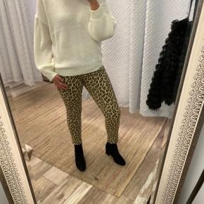 Leopard Print Skinnies