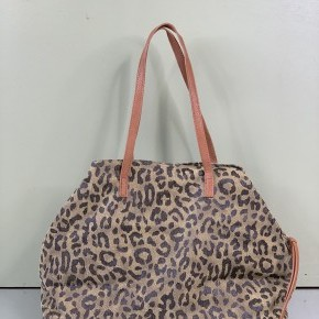 Olive Leopard Tote *Final Sale*