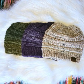 Speckle Knit Beanies