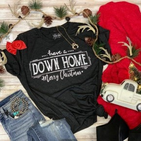 Down Home Christmas Tee