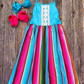 Avaree Serape Maxi Dress