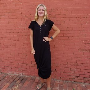 Black Henly Dress