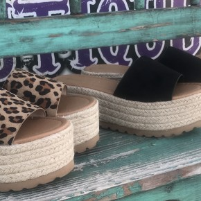 Espadrille Platform Sandal