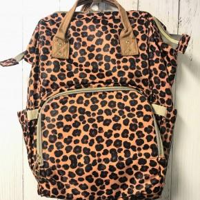Leopard Diaper Bag