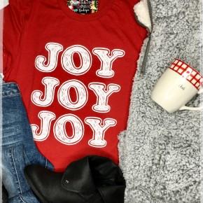 Joy Joy Joy Tee