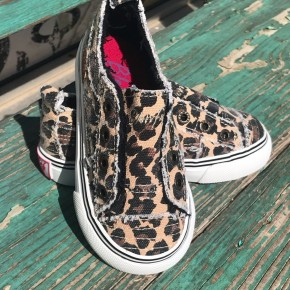 Leopard Kids Blowfish Sneaks