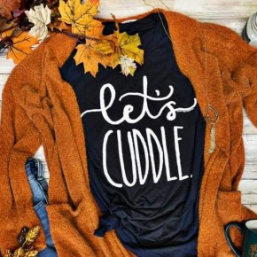 Let's Cuddle Tee