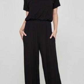 Olivia Black Short Sleeve Jumpsuit