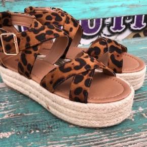 Classic Leopard Sandal