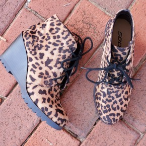 Leo Leopard Booties