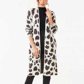 Soft Knit Leopard Cardigan