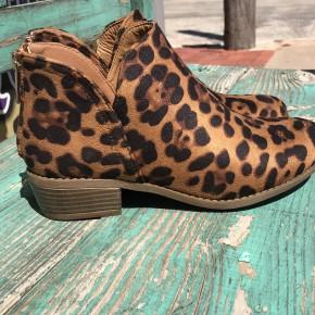 Gilmore Leopard Suede Bootie