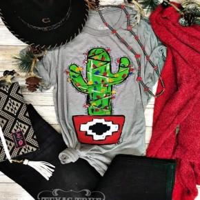 PRE-ORDER Christmas Cactus Tee