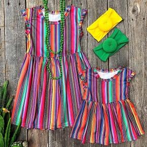 Serape Dress