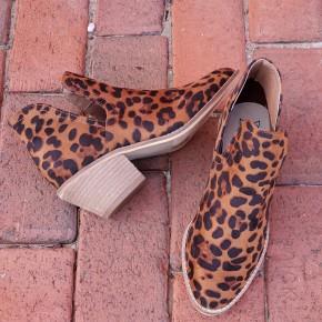 Sunny Leopard Booties