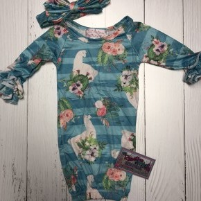 Lucy Llama Sleep gown