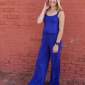 The Daisy Jumpsuit With Pockets