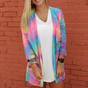 Tie Dye Neon Kimono