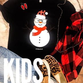 PRE-ORDER Toddler/Youth Funky Snowman Tee