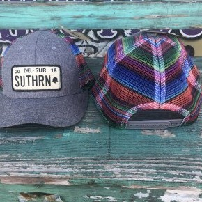 Del Sur Serape Caps