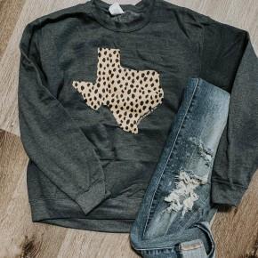 Leopard TX Sweatshirt