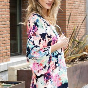 Neon Floral Kimono
