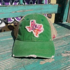 Green Texas Cap