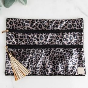 Metallic Leopard Versi bag