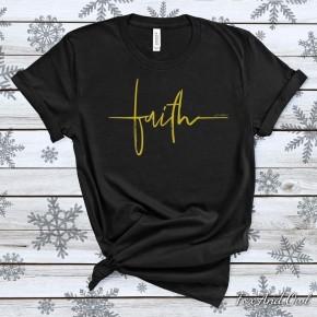 Faith Script Tee