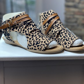 Blowfish Leopard Sandals