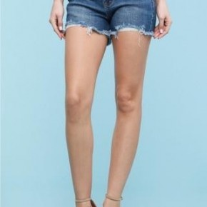 Judy Blue Fringe Cut off Shorts