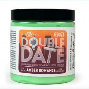 Amber Romance Double Date Whipped Soap and Shave Cream
