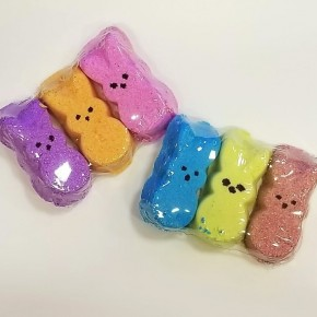 Easter Bunny Peeps Bath Bombs