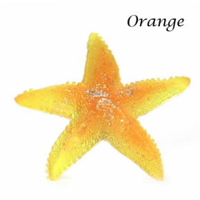Country Bathhouse - Starfish Glycerine Soap in Yellow & Purple