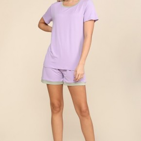 Lilac Dusty Sage Pajama Set