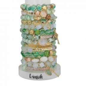 Erimish Emerald Accent bracelets