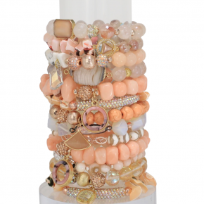 Erimish Sorbet Accent Bracelets