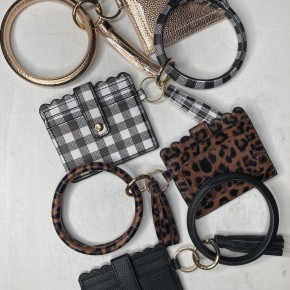 Wallet Bracelet Key Ring